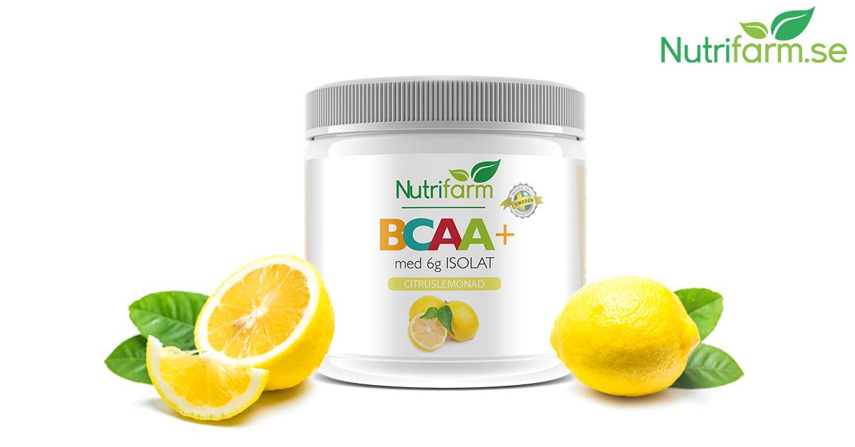 beställa isolat bcaa+ nutrifarm